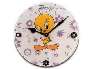 """Ceas pentru copii """"Tweety"""", White, 31 cm, 1 buc."""