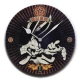 "Clock for children ""Bugs Bunny"", Red, 31 cm, 1 pc."