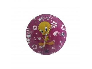 "Ceas pentru copii ""Tweety"", Fucsia, 31cm, 1 buc."