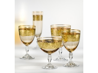 "Set pocale pentru sampanie ""Gloria"" 220 ml, 6 buc"