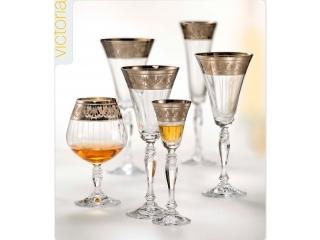 """Set pocale pentru vin """"Victoria"""" 230 ml, 6 buc"""