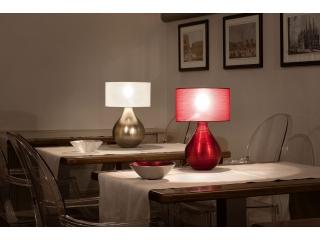 Lampă de masă, lustre