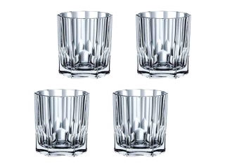 "Set pahare p/u whisky ""Aspen"" 324 ml, 4 buc."