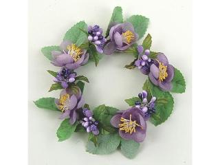 "Coronita ""Blassom"" (L) D10cm Lilac, 1 buc"