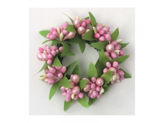 "Coronita ""Berry"" (S) D7cm Pink, 1 buc"