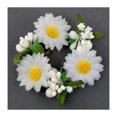 """Coronita """"Daisy"""" (S) D8cm, White, 1 buc, Coronite  artificiale,"""