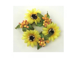 "Coronita ""Daisy"" (S) D8cm, Yellow, 1 buc"