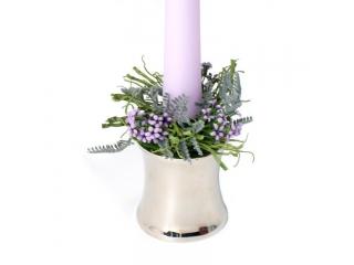 """Coronita """"Lavendel"""" D7cm, Lilac, 1 buc"""