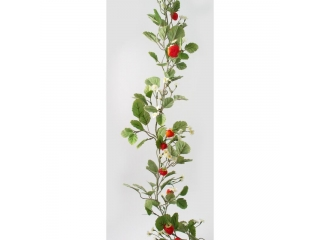 "Ghirlanda ""Streawberry"" L180cm green/red, 1 buc"
