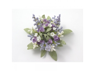 "Coronita ""Mini flower"" D14cm Lt.lilac, 1 buc"