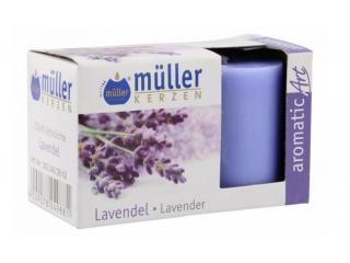 Set luminari parfumate fr.lavender, 2 buc