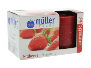 Set luminari parfumate strawberry, 2 pcs.