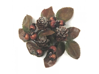 "Coronita ""Automn berry cone"" (S), Brown, 1 buc."