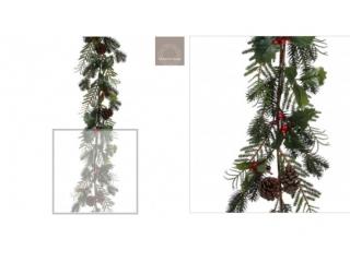 "Ghirlanda ""Cedar"" green - l185xw15xh15cm,1 buc."