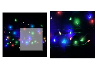 Ghirlanda  cu 500 LED  multicolor L1250cm,(210H,tree) 1 buc.