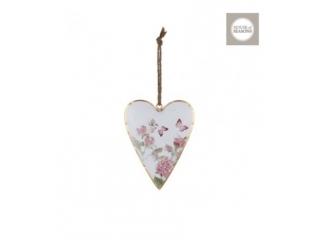 "Decor agatat ""Heart"" - L13xB1,5xH16cm 1 buc."