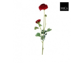 "Floare artificiala""Ranunculus"" L71 RED,1 buc"