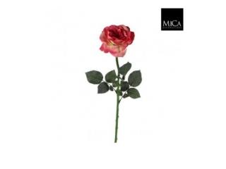 "Floare artificiala""Rose Sophia"" L65 Fucsia,1 buc"