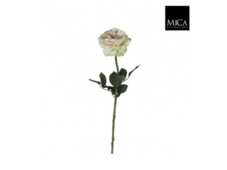 "Floare artificiala""Rose Sophia"" L65 Champagne,1 buc"