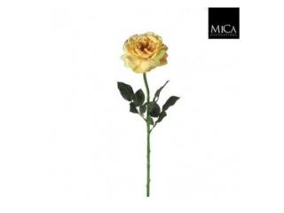 "Floare artificiala""Rose Sophia"" L65 L.yellow, 1 buc"