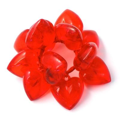 """Coronita""""Inima """" Red , 1 buc., Coronite  artificiale,"""