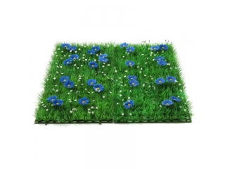 "Covoras artificial ""Flower"" 25x25cm, Blue, 1 buc."