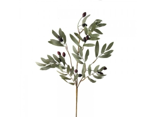 "Crenguta artificiala ""Olive"" L93cm Green, 1 buc"
