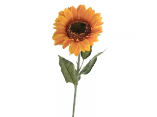 "Floare artificiala ""Sunflower"", Yelow, L95 cm, 1 buc."