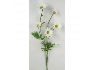 "Floare artificiala ""Daisy"" H70cm, White, 1 buc"