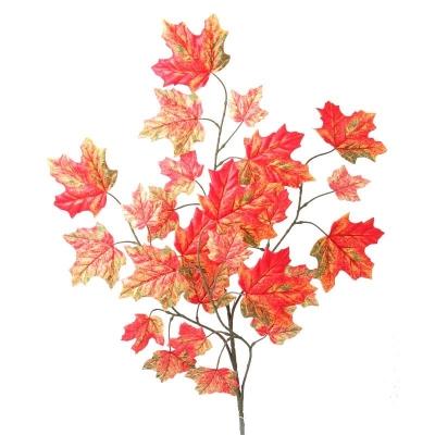 Crenguta artificiala L63 cm,Orange, 1 buc., Flori artificiale,