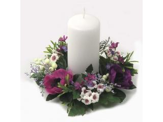 """Coronita """"Blossom"""" D19cm Lilac, 1 buc"""