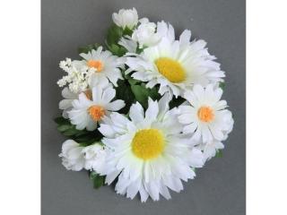"Coronita ""Daisy Wild"" D12cm White, 1 buc"