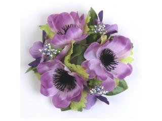 """Coronita """"Anemone"""" D12cm Lilac, 1 buc"""