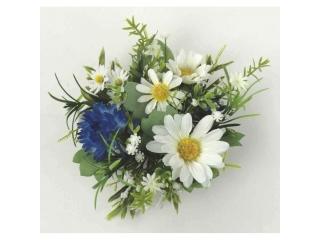 "Coronita ""Daisy"" (S) D15cm Blue/White, 1 buc"