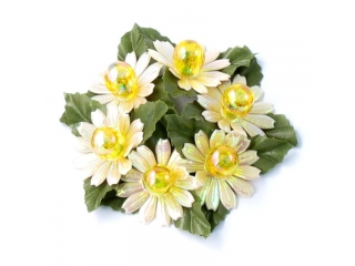 """Coronita """"Mini Mum"""" D6cm, Cream, 1 buc"""