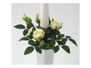 "Coronita ""Mini Rose"" D11cm, Cream, 1 buc."