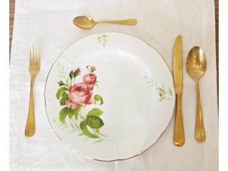 """""""Rose & Butterfly"""" Farfurie de servit, 1 buc."""