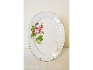 """Rose & Butterfly"" Platou oval 35 cm, 1 buc."