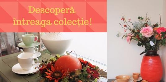 """Descoperă noua Colecţie de Toamnă  la Centrul de Veselă """"PERLA""""!"""