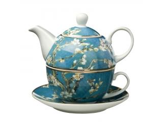 "Set ceai ""Almond Tree"" 3 piese, 0,35 l, 15 cm , 1 set"