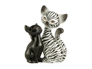 "Figurina ""Zebra Kitty in Love"", 18 cm, 1 buc"