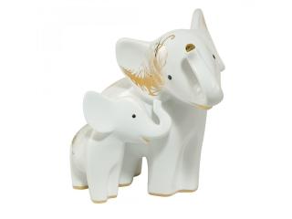 "Figurina ""Elefanti Araba & Ambo"", 19,5 cm , 1 buc"