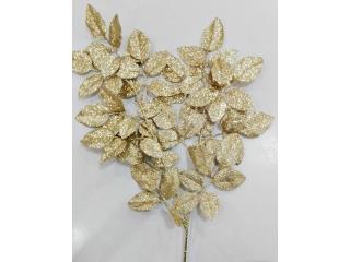 """Ramura """"Leaf Gold"""" - l70cm, 1 buc."""