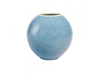 """Vaza """"Ball"""" Sky Blue, 10 cm, 1 buc"""