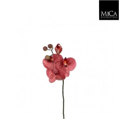 """Floare artificiala """"Phalaenopsis"""" Red  L37cm, 1 buc., Flori si coronite artificiale ,"""