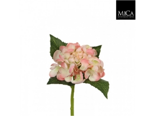 "Floare artificiala ""Hydrangea"" L22 Peach, 1 buc"