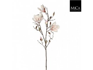 "Floare artificiala ""Magnolia"" Pink L88cm, 1 buc"