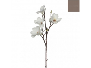 "Floare artificiala ""Magnolia"" Cream, L80cm, 1 buc"