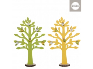 "Decor ""Tree"" 2ASS Yellow/Green L25.5xW88.5cm, 1 buc"