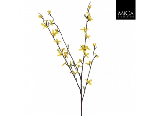 "Creanga artificiala ""Forsythia"", yellow L82xD20cm, 1 buc."